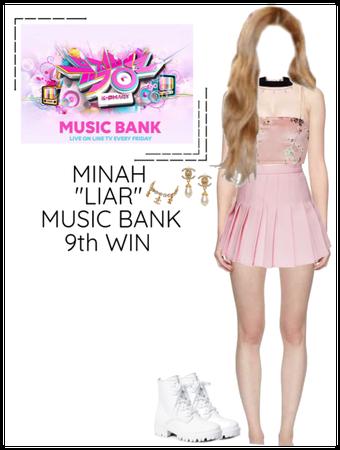 "Minah - ""LIAR"" Music Bank & 9th Win"