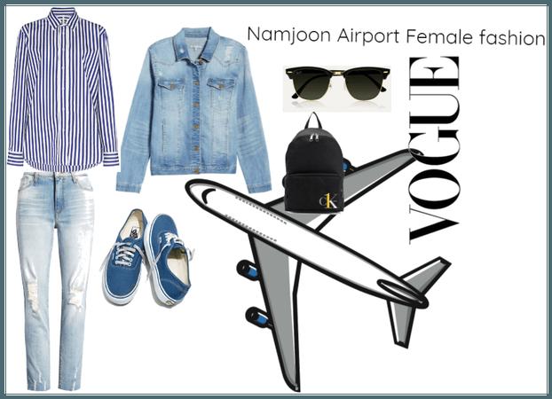 Namjoon Airport Fashion