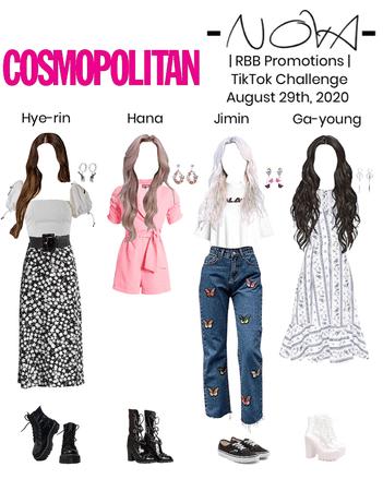 -NOVA- RBB   Cosmopolitan TikTok Challenge