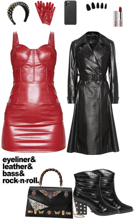red leather revenge
