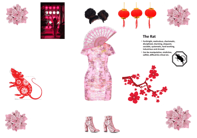 Chinese New Year Outfit Design