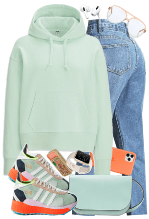 spring sporty outfit