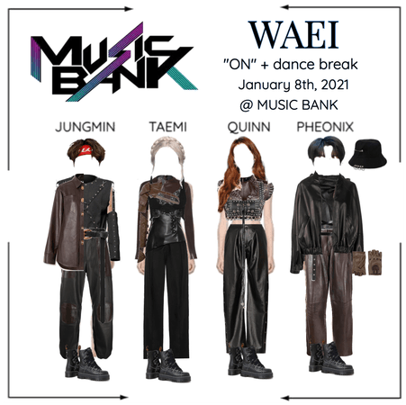"WAEI II ""ON"" MUSIC BANK"