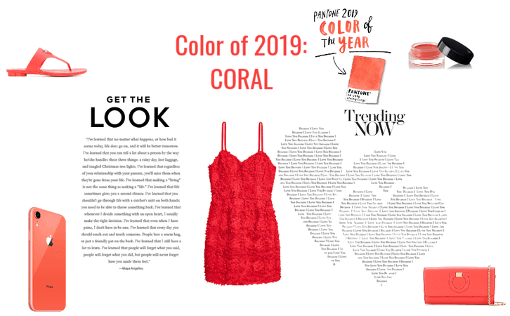 Color of 2019: CORAL