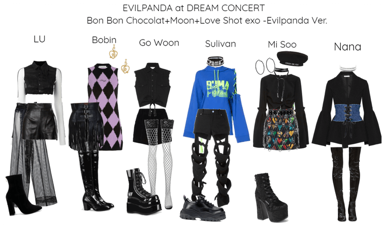 EVILPANDA at DREAM CONCERT