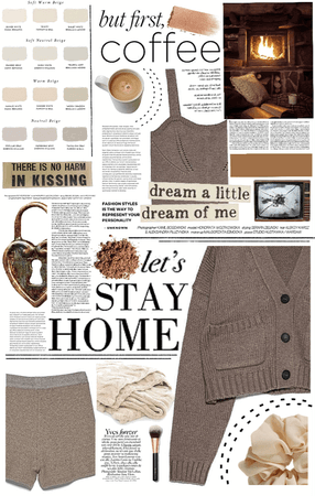 cozy brown.