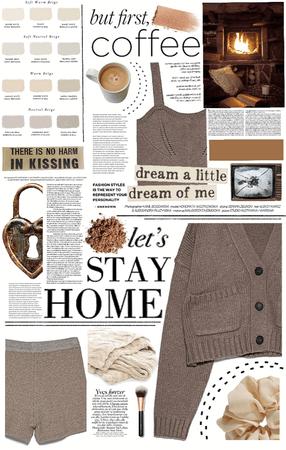 cozy brown.