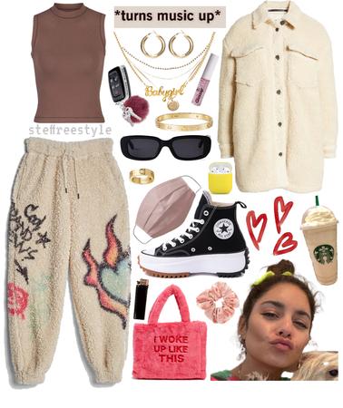 if i styled: vanessa hudgens - cozy & chill