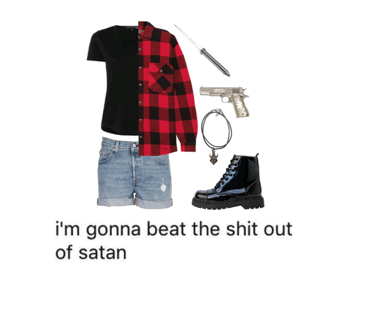 Supernatural Inspired Outfit φ