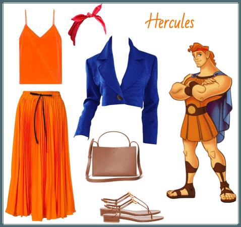 Hercules outfit - Disneybounding