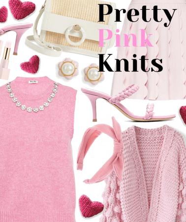 Pretty Pink Knits