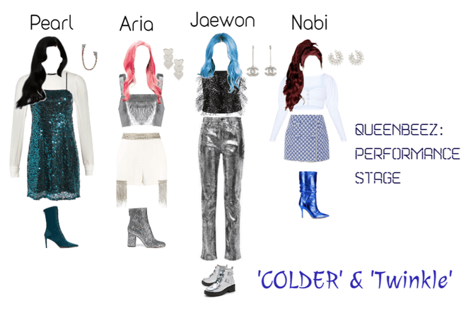QueenBeez Performance Stage: COLDER & Twinkle
