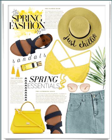 Spring time essentials