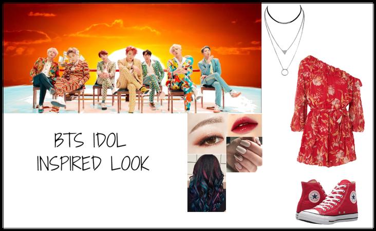 BTS IDOL - INSPIRED LOOK
