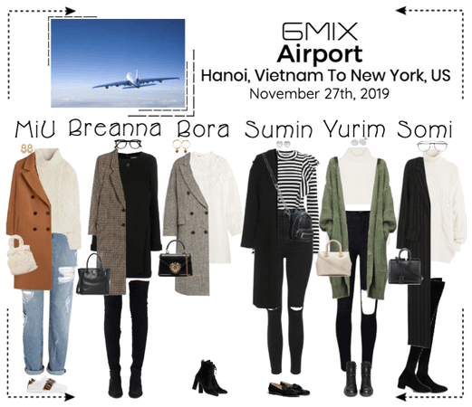 《6mix》Airport | Hanoi, Vietnam To New York