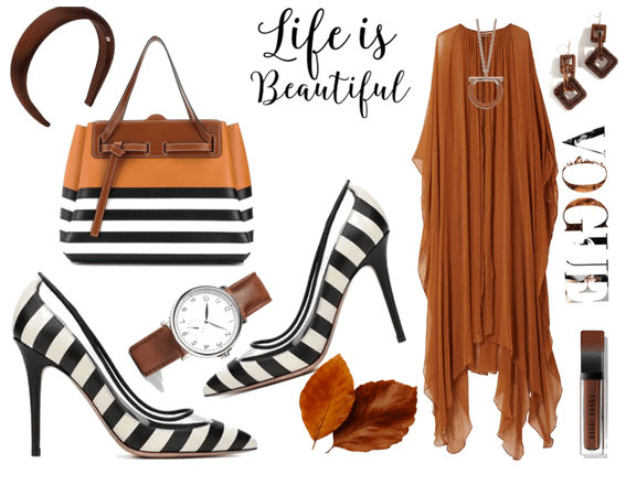 BROWN AND STRIPE