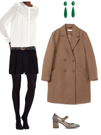 elegant christmassy outfit