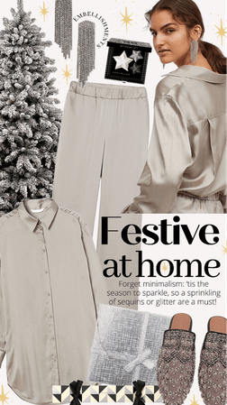 Festive luxe at home