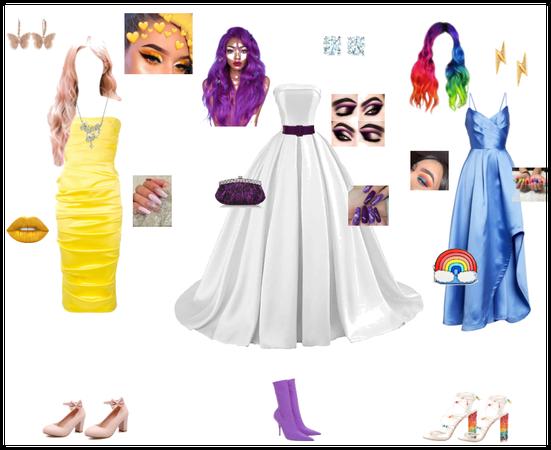 MLP-Prom Dresses ( Rarity , Fluttershy , RD ) #2