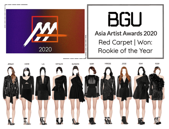 BGU Asia Artist Awards 2020 Red Carpet