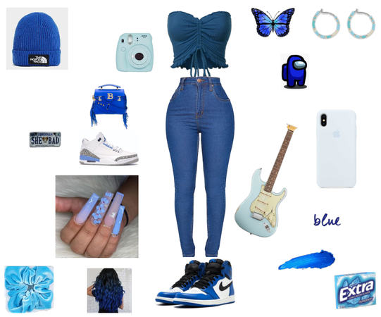 Blue *yes I love the color blue*