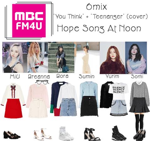 《6mix》MBC FM4U Hope Song At Noon