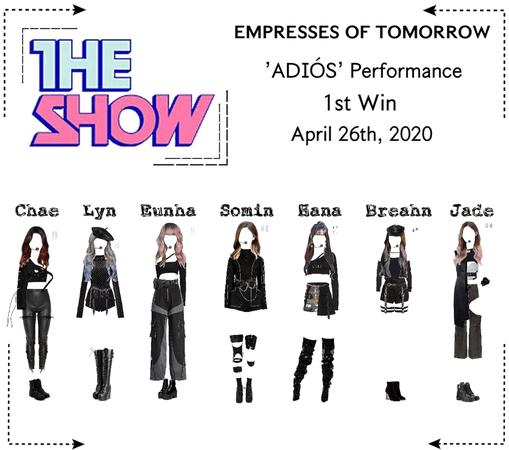 EOT | The Show: 'ADIÓS' 1st Win