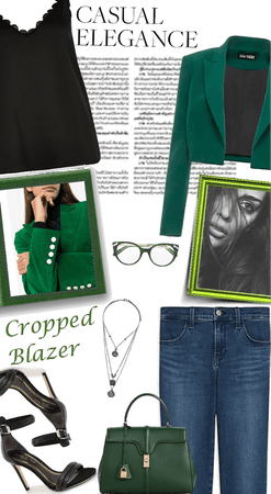 Casual Friday: Cropped Blazer
