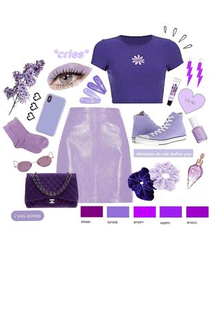 purple monochrome fit 💁♀️