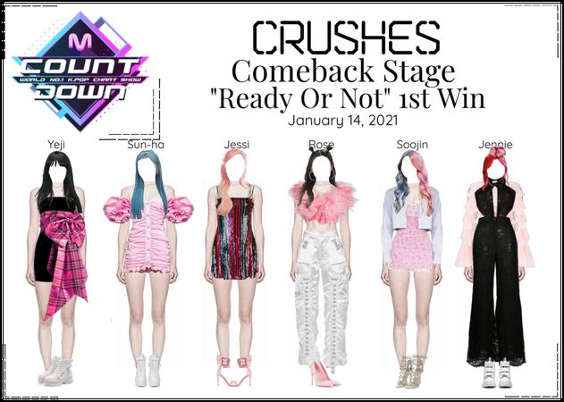 Crushes (호감) ❝ℝ𝕖𝕒𝕕𝕪 𝕆𝕣 ℕ𝕠𝕥❞ 1st Win