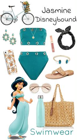 Jasmine Swimwear Disneybound
