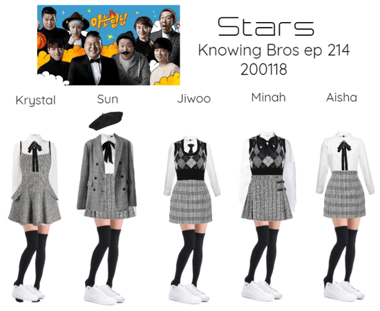 Stars in Knowing Bros 200118