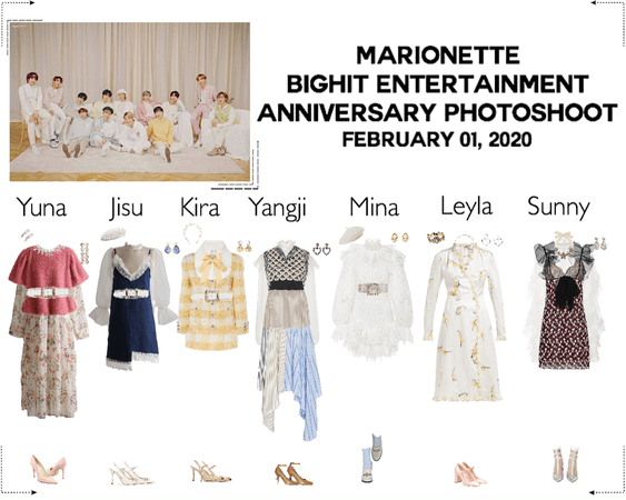 MARIONETTE (마리오네트) BigHit Entertainment 15th Anniversary Photoshoot