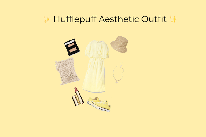 Hufflepuff Aesthetic Outfit