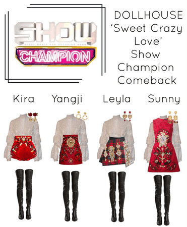 {DOLLHOUSE} 'Sweet Crazy Love' Show Champion Comeback Stage