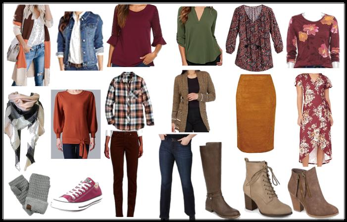 fall fashion basic staples