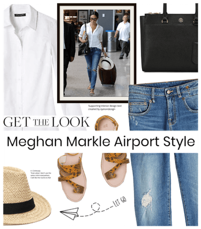 Meghan Markle airport style