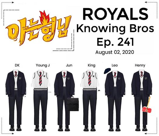 ROYALS [감청색] Knowing Bros