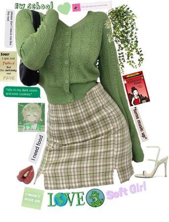 green 💚🌱☘️ -for new creators challenge-