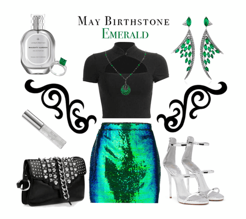 MAY BIRTHSTONE: Emerald Style
