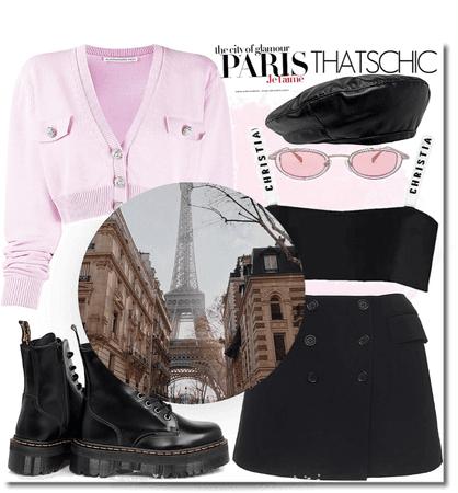 In my favorite city! Oh, Paris!