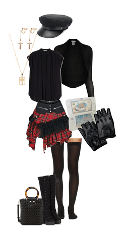 Mistress Black: Teenage look