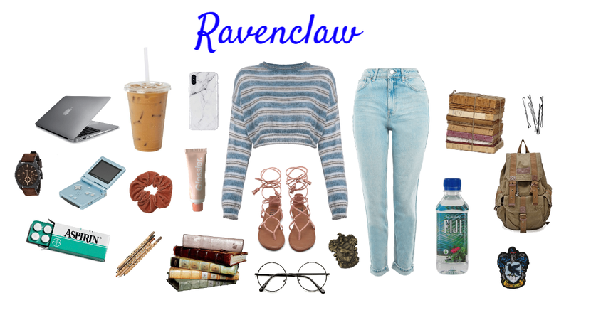 Ravenclaw outfit/aesthetic