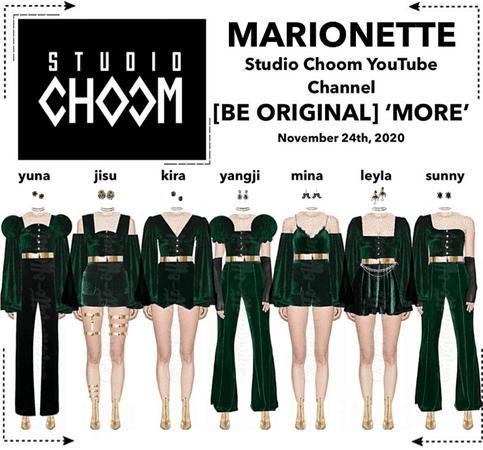 MARIONETTE (마리오네트) Studio Choom YouTube Video