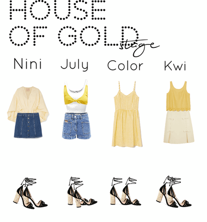 House Of Gold||Stage Outfits||[4est]•
