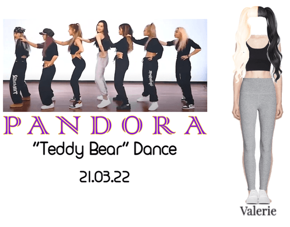 "VALERIE ""Teddy Bear"" Full Dance"