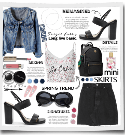 Chic Denim Outfit!