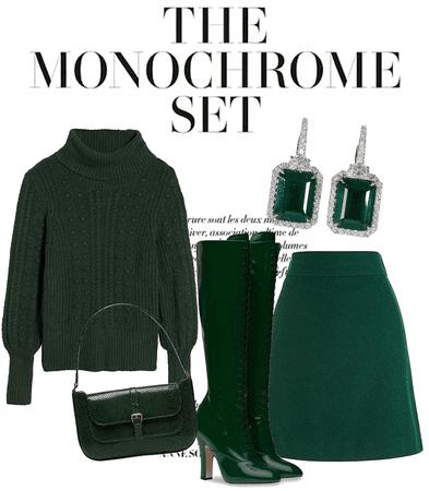 monochrome in winter