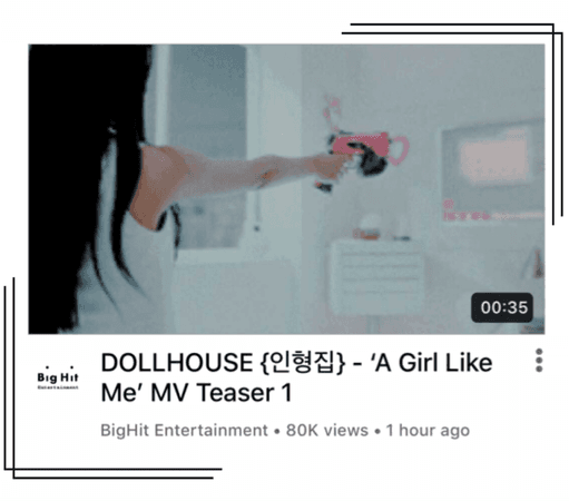 {DOLLHOUSE} 'A Girl Like Me' MV Teaser #1