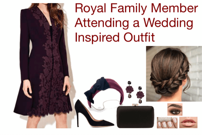 Royal Family Member Attending a Wedding Inspired Outfit